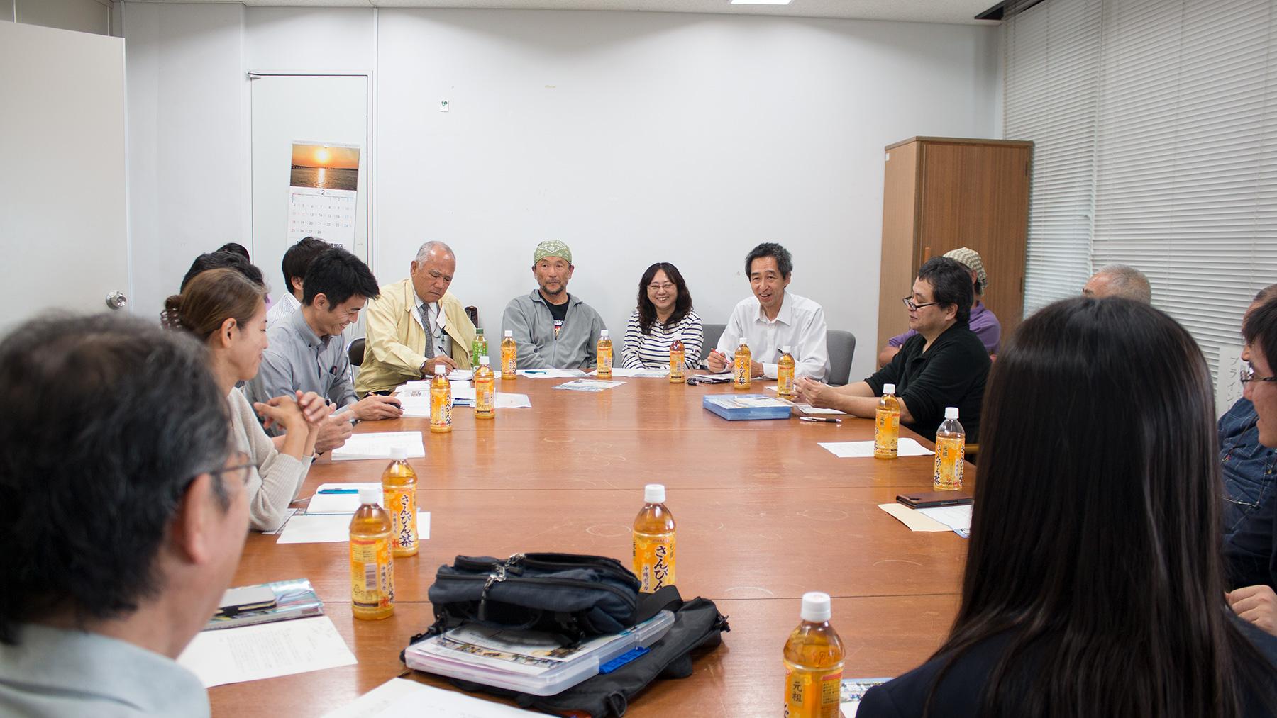 エコの島コンテスト意見交換会が開かれました。