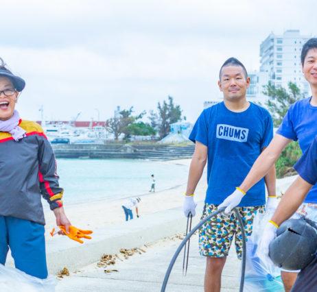 様々なかたちで行われているビーチクリーン活動〜宮古島ミュージックコンベンション〜