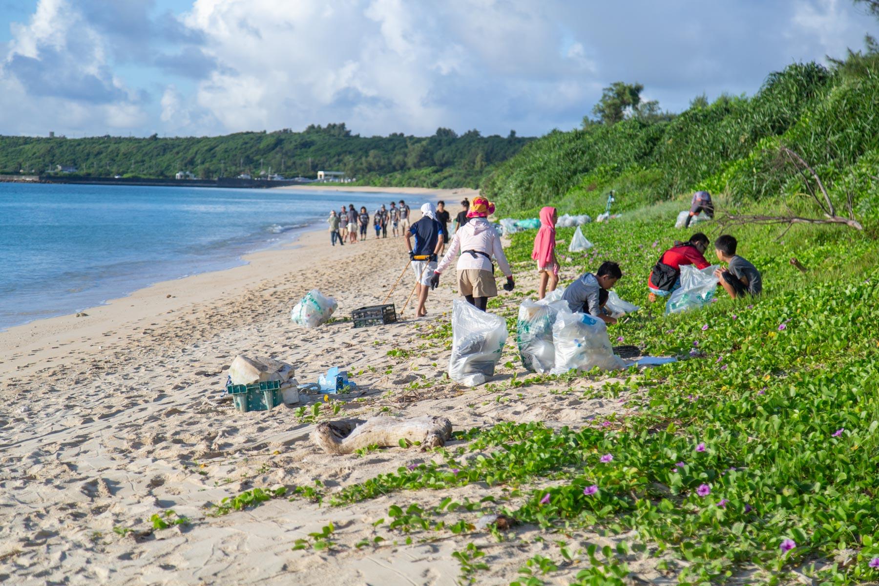 広がる繋がるビーチクリーン活動
