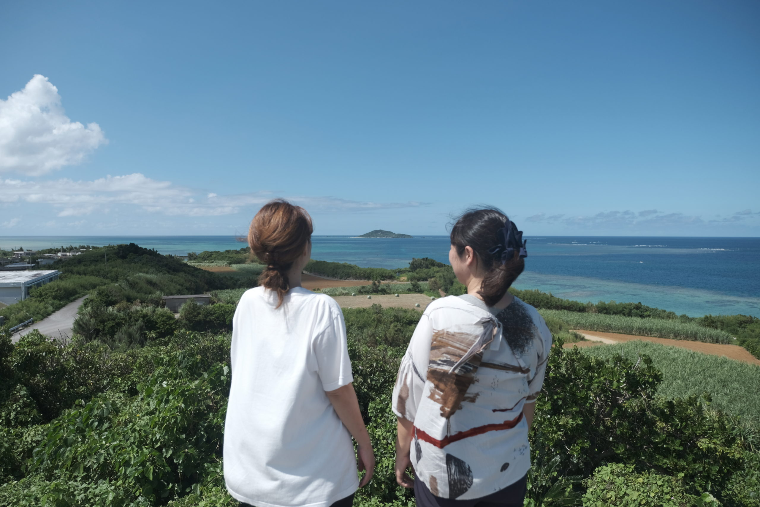 大好きな島尻を「島の色」に染めて(地域おこし協力隊・井上さん)